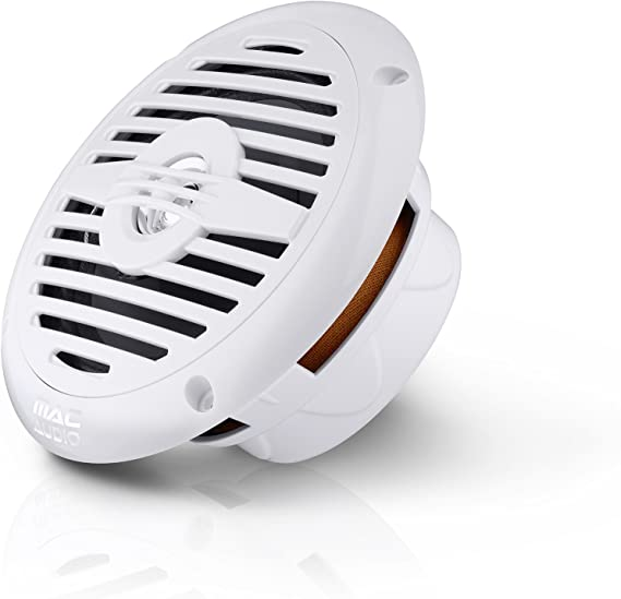 Mac Audio WRS 16.2, Altavoz Empotrable Resistente al Agua, Color Blanco