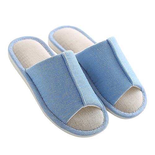 mianshe Pantofole in Stoffa di Canapa 08a77aa214c
