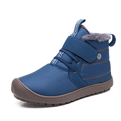 Amazon.com   EXEBLUE Winter Snow Boots, Mens Women's Water-Resistant Outdoor Boots Fur Lining   Snow Boots