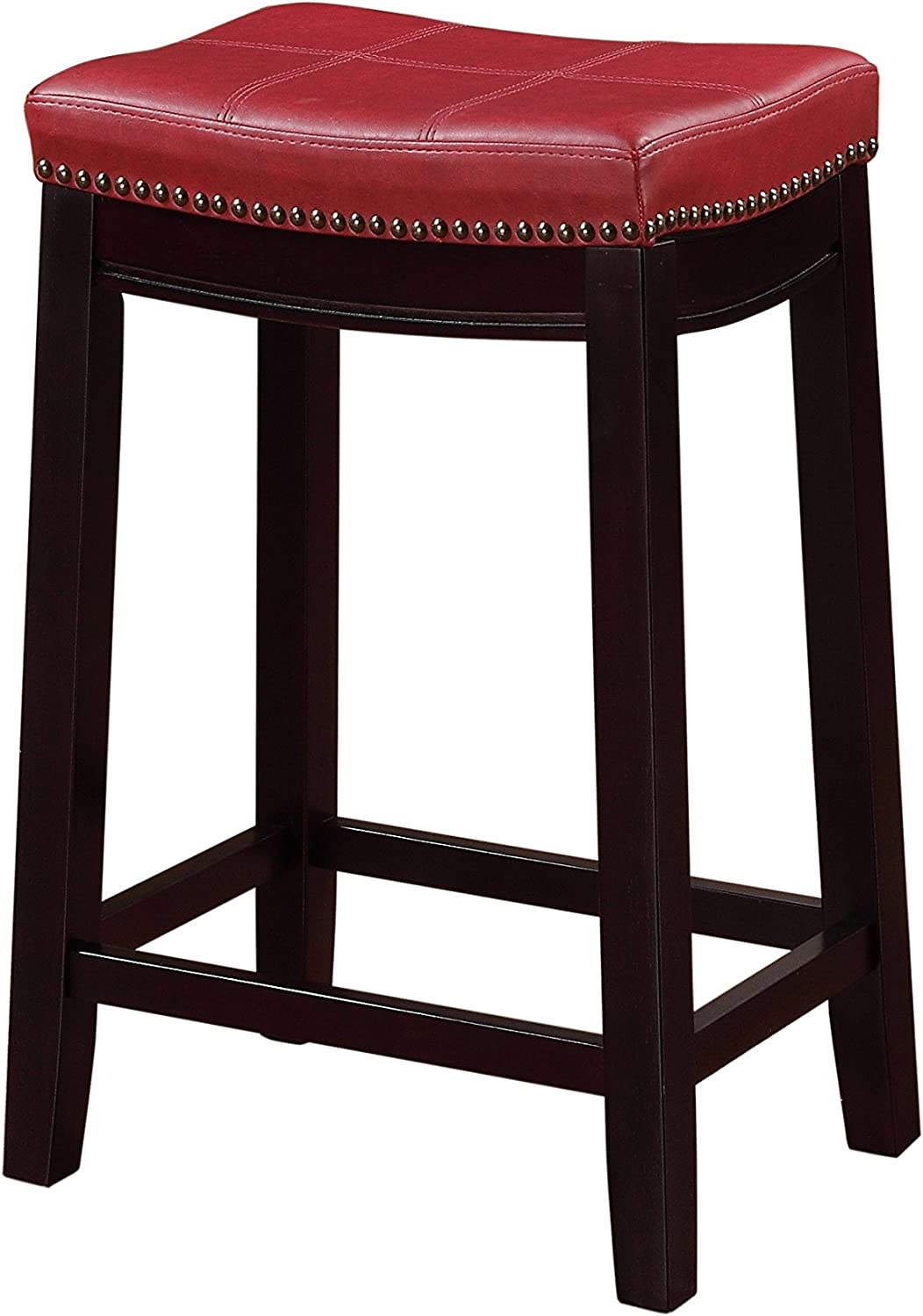 Kavara Medium Brown Color Barstool ,Set of 2