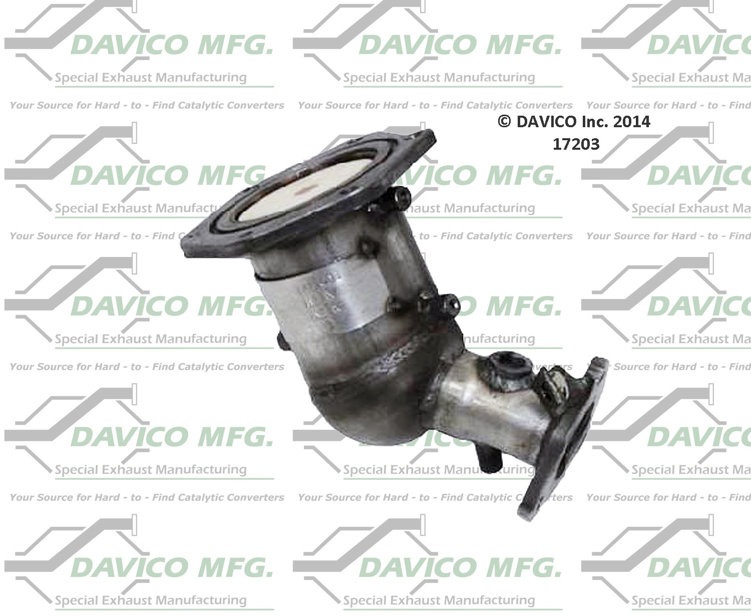 Davico 17203 Catalytic Converter