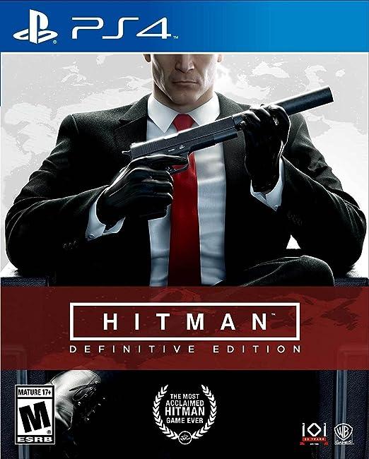 Amazon Com Hitman Definitive Edition Playstation 4 Whv Games