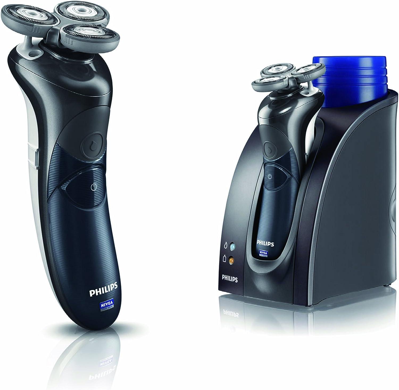 Philips HS8460/25 Afeitadora NIVEA FOR MEN (Negro): Amazon.es ...