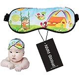 ed714b205 Baby Nap Cap Sleep Eye Mask and Infant Sun Visor Cap Gift Bag (blue ...