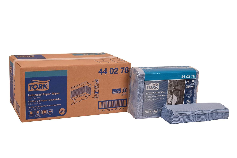 Tork 440278 Industrial papel Limpiaparabrisas, top-pak, 4 capas, 12,8
