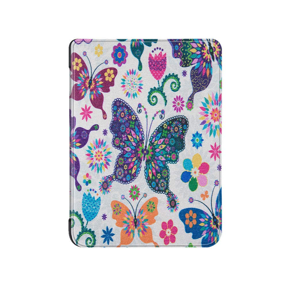 iumei Kindle Paperwhite 4 Case Cover,Ultra Slim Smart Painted Leather Magnetic Tablet Case Cover for Kindle Paperwhite 4 (E)
