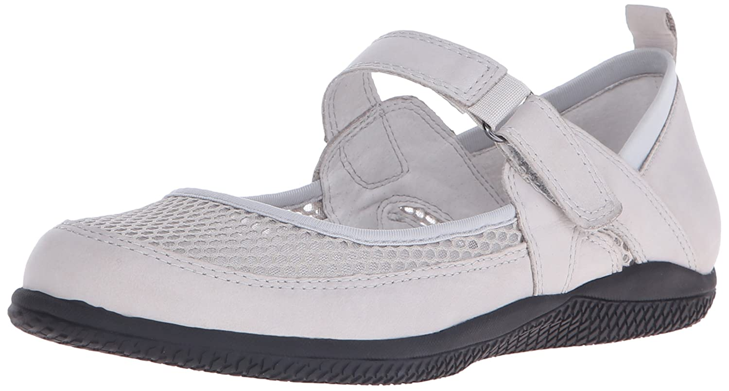 SoftWalk Women's Hadley Mary Jane Flat B011EXK7UO 10 W US|Light Grey