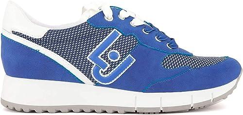 Scarpe LIU JO Donna Sneakers Trendy  BEIGE PU,Tessuto B19019PX02701127