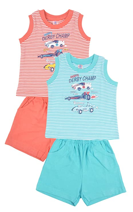 8095cc222 Zero Baby Boys Top Bottom Clothing Set, Pack of 2, Size: 3-6 Months ...