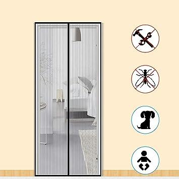 Mosquitera para puerta de Zalava, protección contra insectos, cortina magnética, mosquitera para puerta, puerta de balcón,