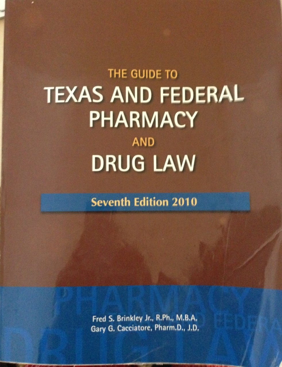 Medication discount coupons bvgg - Texas And Federal Pharmacy And Drug Law 7th Edition Gary G Cacciatore Fred S Brinkley 9780692008997 Amazon Com Books