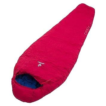modernes Design bestbewertet billig begrenzter Preis Deuter Orbit -5° Schlafsack, Cranberry-Steel, One Size ...