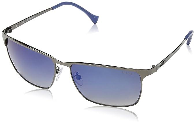 0a491f9a1e Police Sunglasses Men s SPL146 Defence 3 Rectangular Sunglasses 59mm