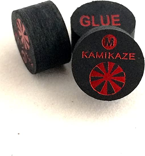 Fast Shipping.... 5 Tips Kamikaze Black Layered Cue Tips  14 MM SUPER SOFT