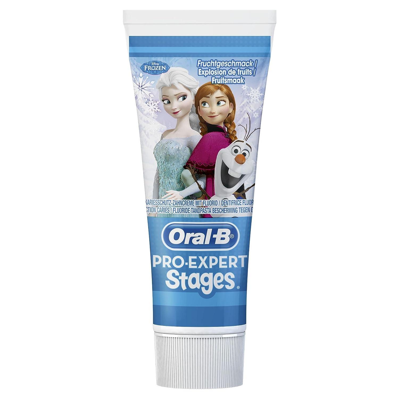 Oral-B Pro-Expert etapas de pasta de dientes con los personajes de Disney% 22La reina de hielo - Completamente% descarada 22, 3-pack (3 x 75 ml) 4084500966475