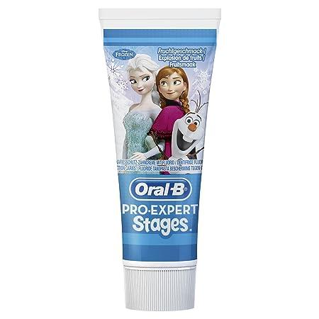 Oral-B Pro-Expert etapas de pasta de dientes con los personajes de Disney% 22La reina de hielo - Completamente% descarada 22, 3-pack (3 x 75 ml): Amazon.es: ...