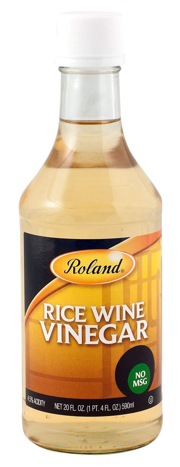 Roland Rice Wine Vinegar With No Msg, 20 fl oz