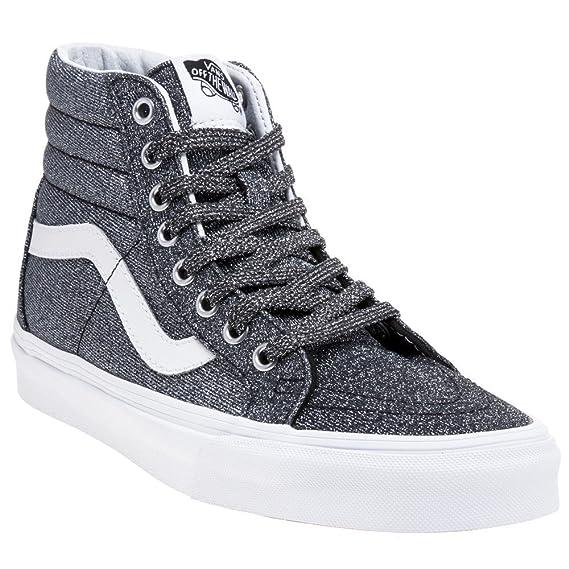 Vans Sk8 Hi Reissue Zapatillas para Mujer, Color Negro