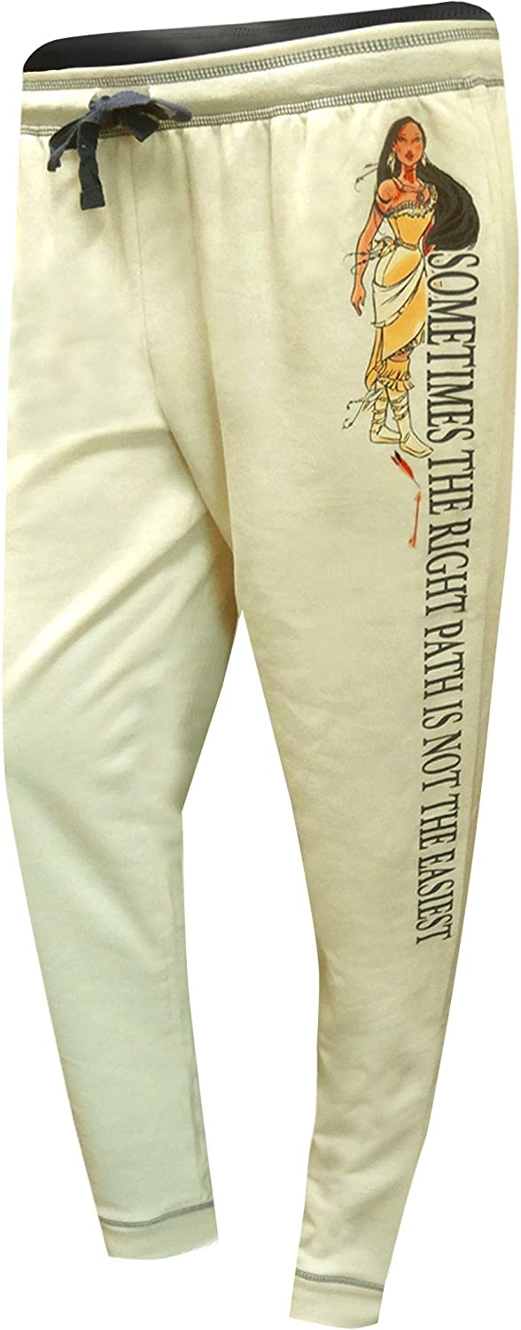 Disney Womens Pocahontas The Right Path Plus Size Jogger Lounge Pants