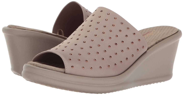 Rumblers Delle Donne Skechers Cali Setosa Sandalo Zeppa Liscia X0GadGj3y