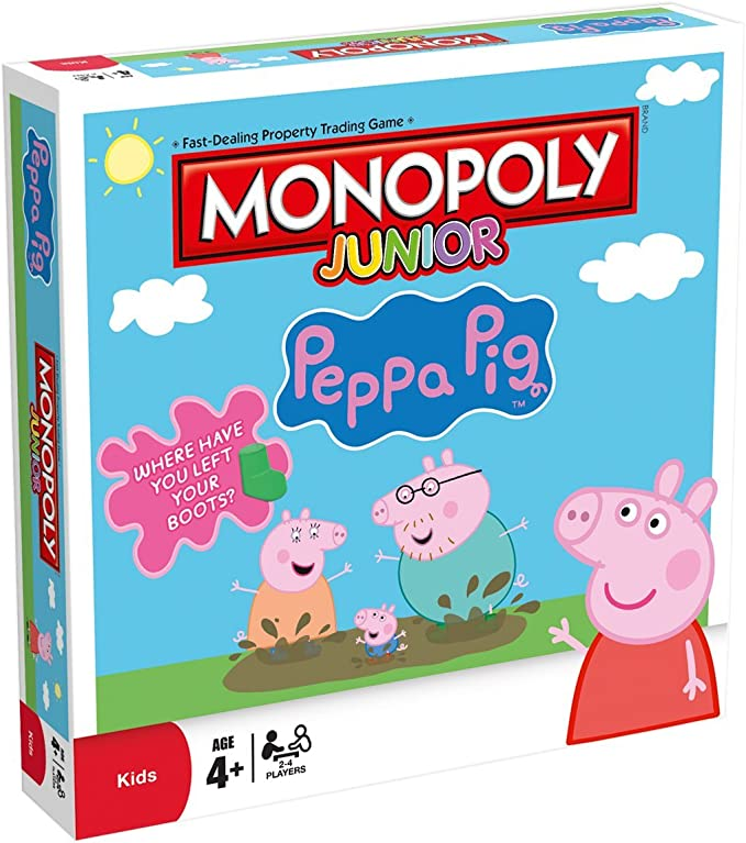 Monopoly Junior: Peppa Pig: Amazon.es: Libros en idiomas extranjeros