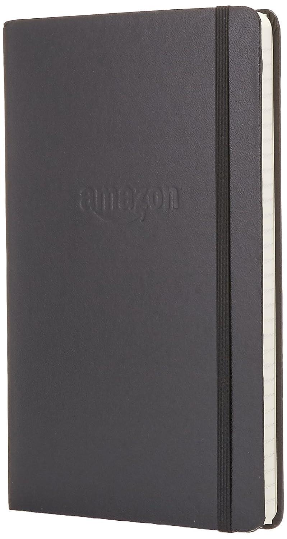 Amazon Gear Classic Notebook - Plain, Black, Hard Cover (5 x 8.25)