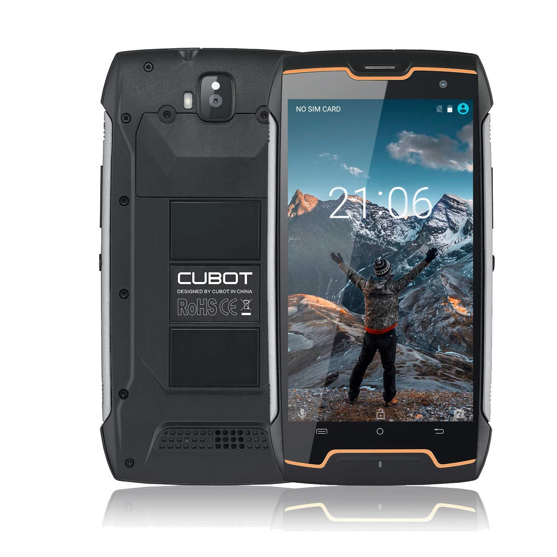 CUBOT King Kong IP68 Móvil Libre Impermeable 3G Smartphone 5.0 Pulgadas Android Dual SIM Quad-Core 13,0MP Cámara 2GB+16GB CUBOT Oficial