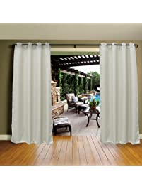 Wonderful Mildew Resistant Thermal Insulated Grommet Top Indoor/Outdoor  Curtain/Exterior Shades/Blinds,