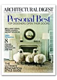 Architectural Digest Print Access + Free Tote Bag & Celebrity Living Issue