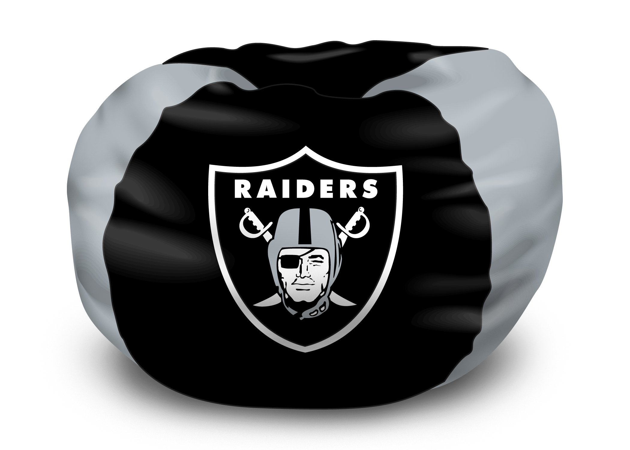 Northwest 1NFL158000019RET NFL Bean Bag Chair NFL 158 Raiders Bean Bag