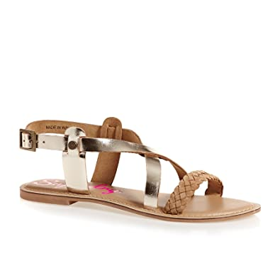 Superdry Serenity Golden Sandals Inexpensive online discount online 2015 new online release dates cheap price official for sale jhTbAcN