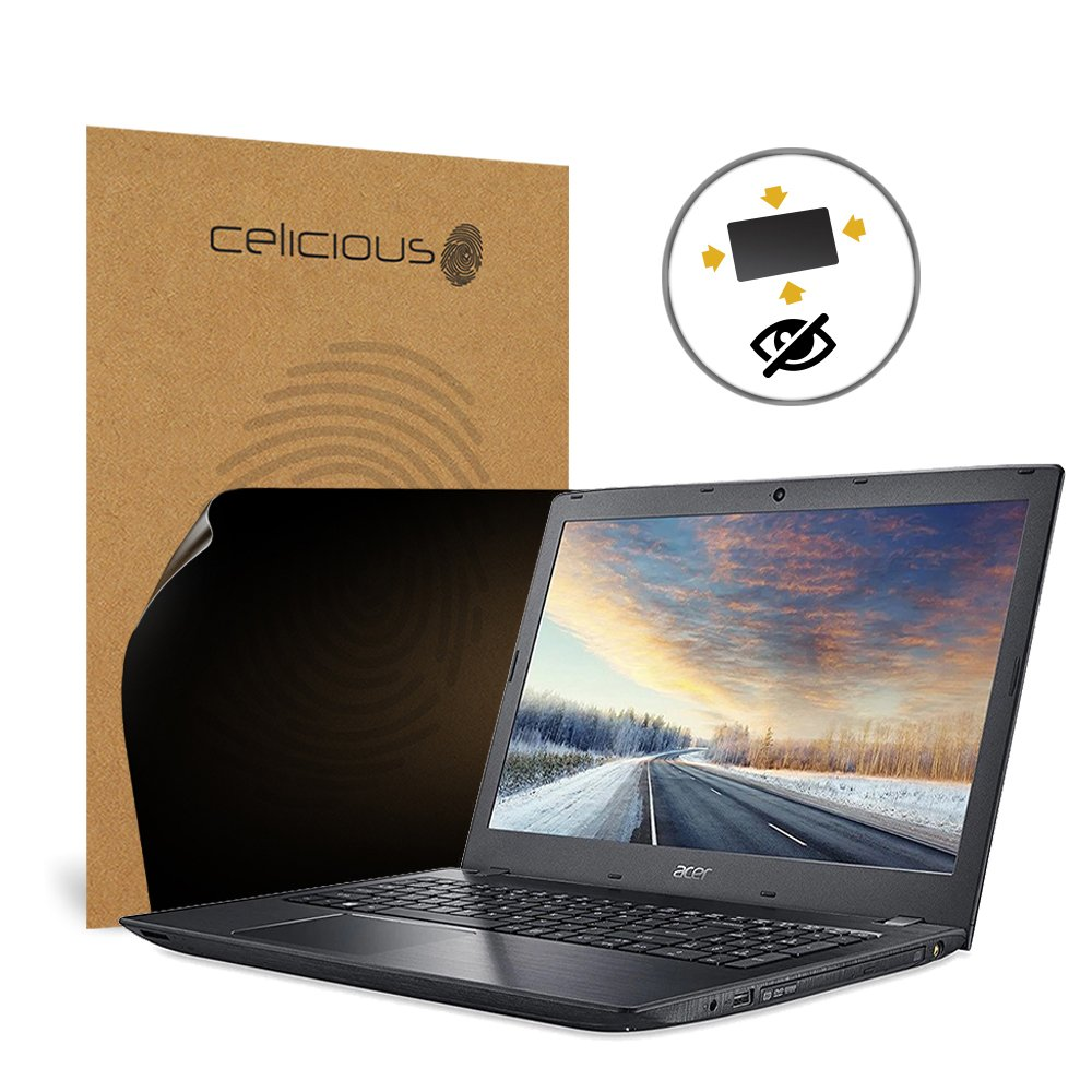 Celicious Privacy Plus 4-Way Anti-Spy Filter Screen Protector Film Compatible with Acer TravelMate P2 TMP259-M