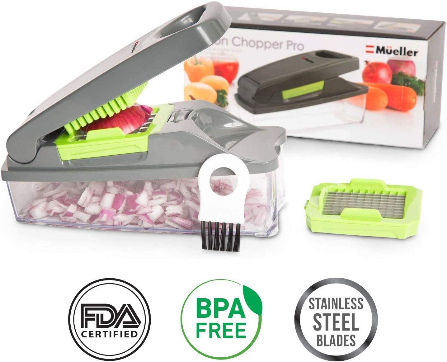 Amazon.com: Cortador de cebollas cortador de verduras pro ...