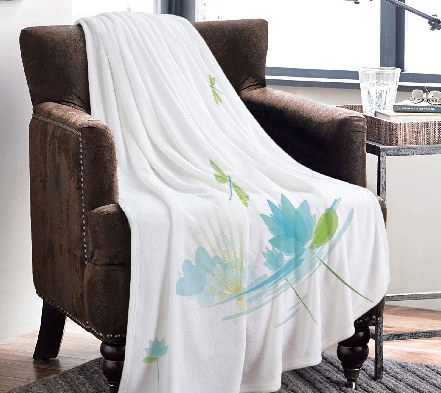Amazon.com: YOLIYANA Microfiber Throw Blanket Set/Perfect ...