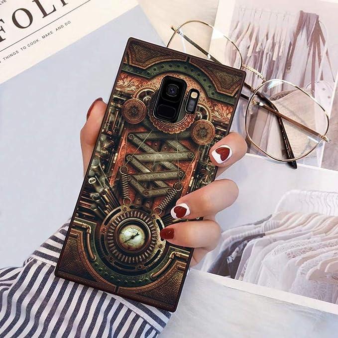 Samsung Galaxy S9 Coque de téléphone en TPU Souple avec Bords ...