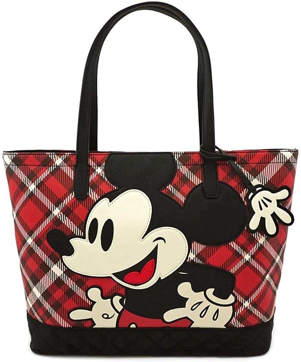 Loungefly Disney Mickey Mouse Twill Tote