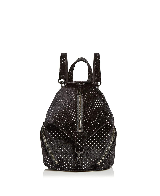Rebecca Minkoff Julian Jeweled Velvet Convertible Fashion Backpack XH17MSDB66