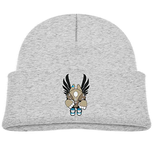 0044cc9773e Amazon.com  Kocvbng I Cool Robot with Wings Beanie Cap Skull Hats ...