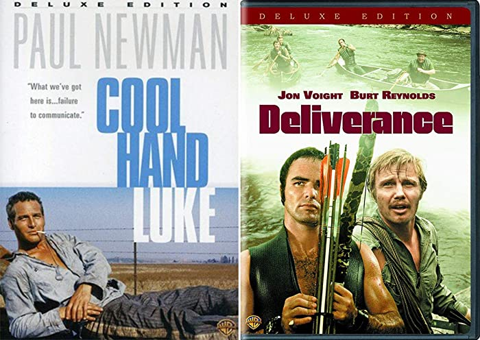 Searing drama Deliverance Burt Reynolds & Paul Newman is Cool Hand Luke Double Feature Movie DVD 2 Pack