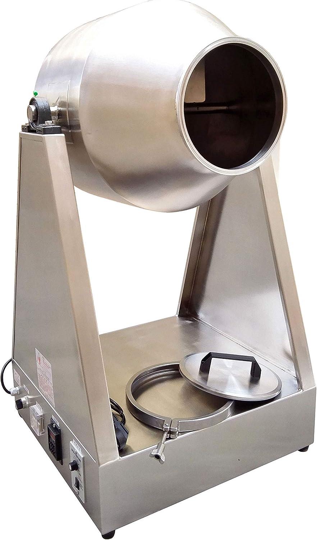 yg-25kg mezclador de laboratorio batidora de polvo polvo seco mezcla mezclador de partículas máquina 220 V/110 V # 304 Acero inoxidable: Amazon.es: Hogar