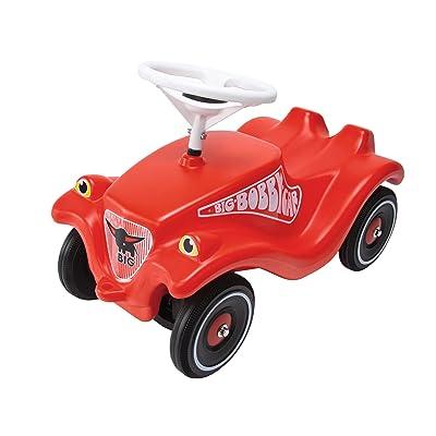 Smoby Big - 800001303 - Porteur Enfant - Vehicule Enfant - Big Bobby Car Classic - Rouge