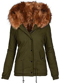 50b86e08b1bf Golden Brands Selection Warmer Damen Winter Kurz Parka Winterjacke großes  Kunstfell Jacke Mantel B273