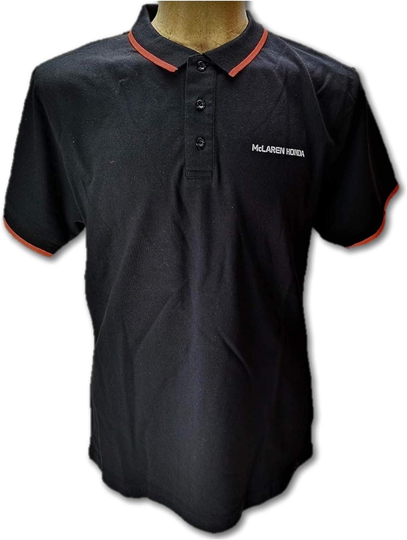 McLaren Honda F1 Team - Polo para Mujer, Color Negro: Amazon.es ...