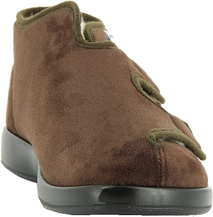 Florett Klettschuhe Unisex Verbandschuhe Therapieschuhe Microvelour Schuhe Gr 38