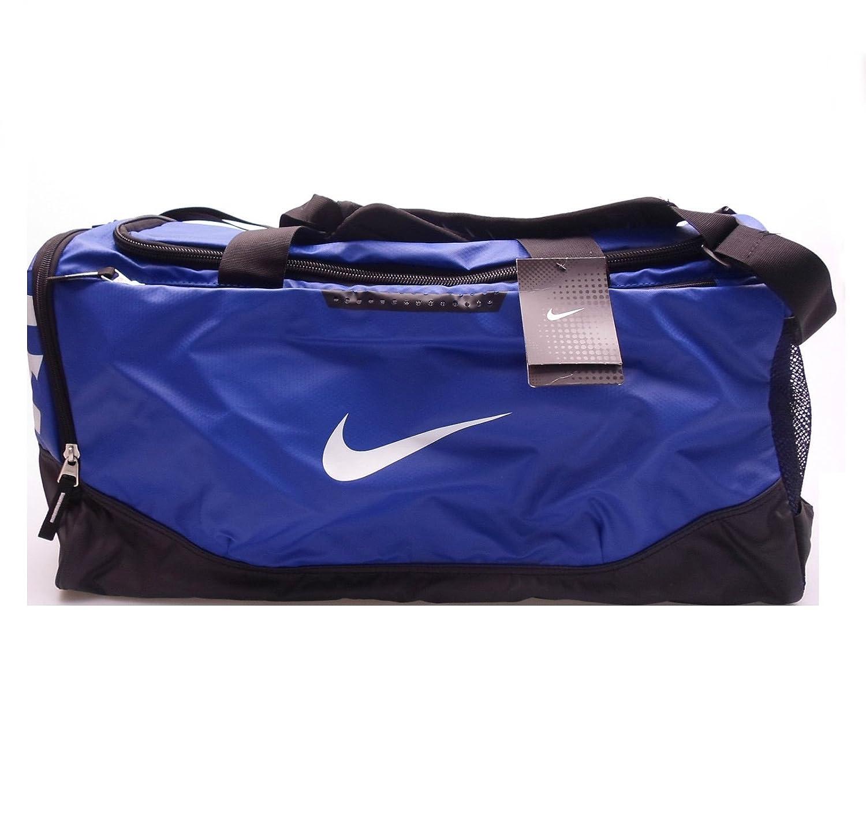 e1a7fe17c065 Nike Air Max Team Training Duffel Bag Medium Sports Holdall Gym Travel Bag  Blue  Amazon.co.uk  Luggage