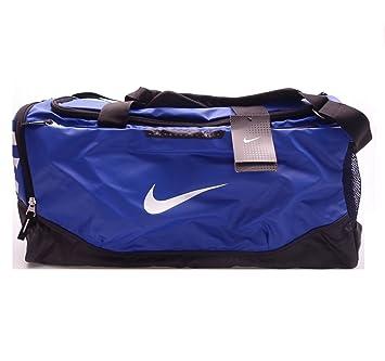 cc755feca1 Nike Air Max Team Training Duffel Bag Medium Sports Holdall Gym Travel Bag  Blue  Amazon.co.uk  Luggage