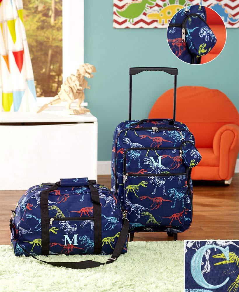 3-Pc. Boys' Monogram Luggage Set C