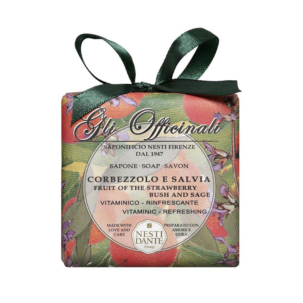ネスティダンテ Gli Officinali Soap - Fruit Of The Strawberry Bush & Sage - Vitaminic & Refreshing 200g/7oz B000ZLZ81U
