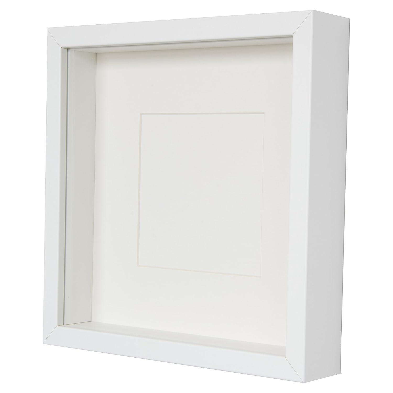 BD Art 23 x 23 cm Box 3D Bilderrahmen mit Passepartout 13 x 13 cm ...