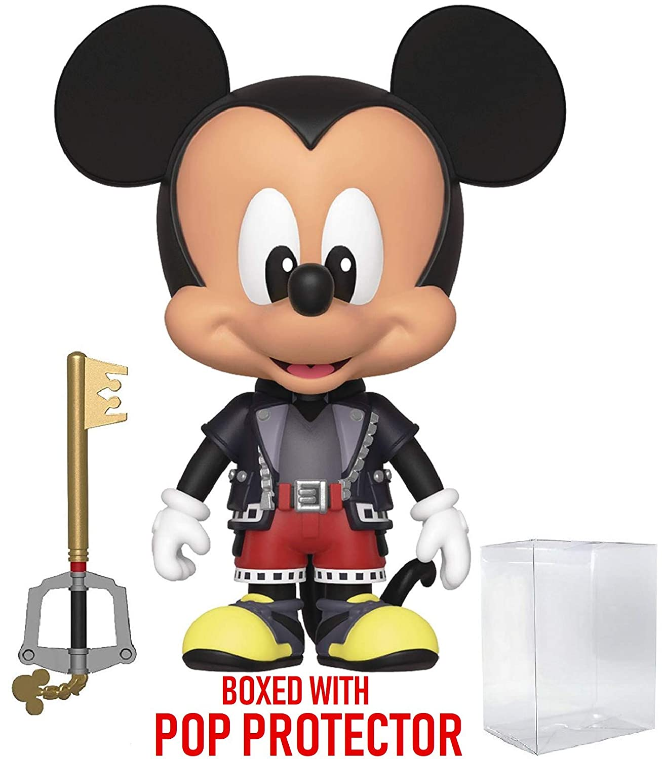 Kingdom Hearts 3 Includes Compatible Pop Box Protector Case Funko 5 Star Disney Mickey Mouse Action Figure